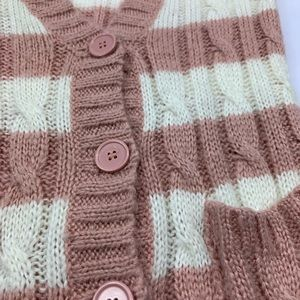 Forever 21 Sweaters - Forever 21 Cardigan Sweater Knit Button Striped